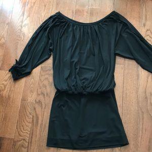 Nicole Miller Studio Short Black Dress